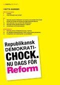 Läs första numret av Reform här. - Republikanska föreningen - Page 2