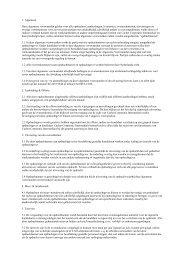 1. Algemeen Deze algemene voorwaarden gelden voor alle ...