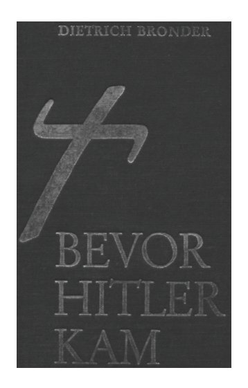 Bevor Hitler kam - Parzifal eV