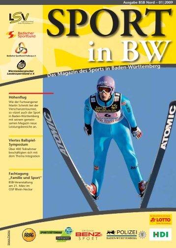 Sport in BW - Badischer Sportbund Nord ev