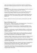 PUBLIKATIONER OCH FÖREDRAG/PAPERS - Institutionen för ... - Page 3