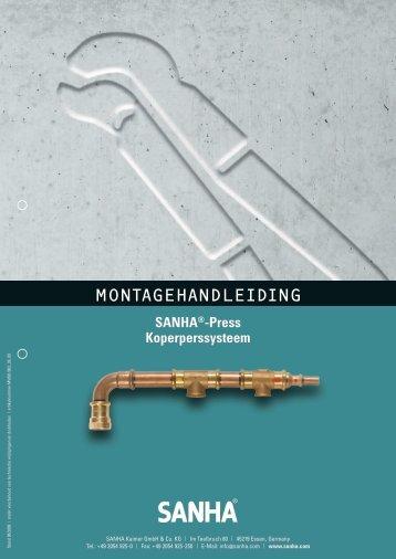 Montage Sanha koper - TTGro