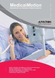 MedicalMotion Nieuwsbrief van Alphatron Medical Systems