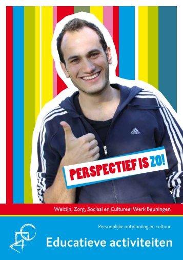 Flyer educatieve activiteiten - STG-Perspectief
