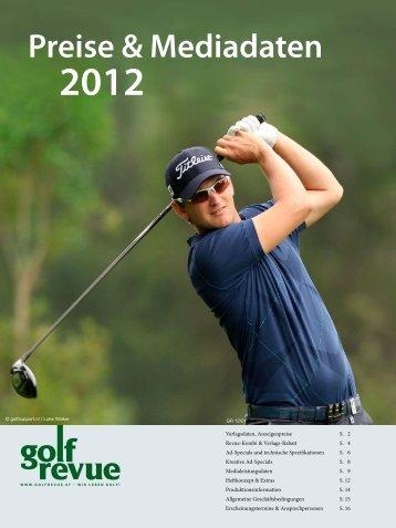 Preise & Mediadaten - Golfrevue