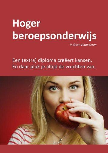 HBO brochure 32p.indd - onderwijs voor volwassenen