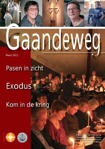 Gaandeweg maart 2011 - Protestantse Gemeente Zwolle