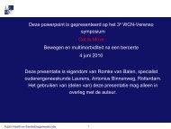 WCN Presentatie R. v. Balen juni 2010