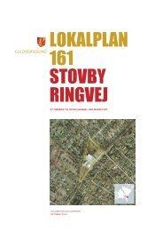 LOKALPLAN 161 STOVBY RINGVEJ - Guldborgsund Kommune