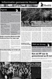 Informatie gemeente Hoorn