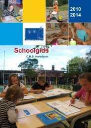 Schoolgids - School met de Bijbel