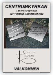 Programblad sept-novl-12 - Centrumkyrkan