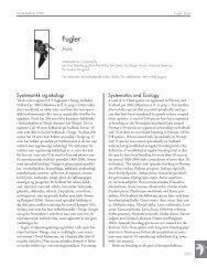 Fugler - Artsdatabanken
