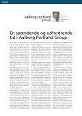 Indhold - Aalborg Portland - Page 3