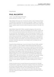 Paul Mccarthy Press Release - Hauser & Wirth