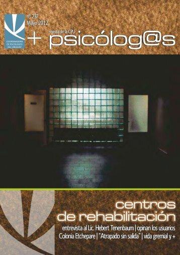 CPU 237 tapa - Coordinadora de Psicólogos del Uruguay