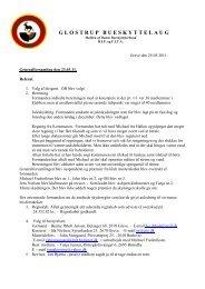 Referat af generalforsamling 230311.pdf - Glostrup Bueskytte