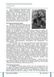 WIDERSTAND IM NATIONALSOZIALISMUS - BORG 2700
