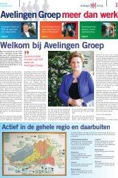 Klik hier om de krant te bekijken - Avelingen Groep