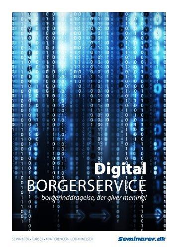 Digital borgerservice (PDF) - Seminarer