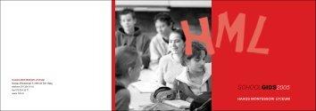 SCHOOLGIDS2005 - Wijvekate Wervende Teksten