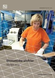 Ekonomiska utsikter | Hösten 2010 - LO