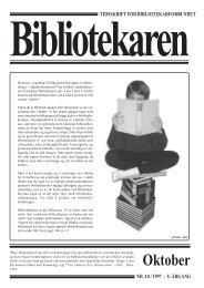 Oktober - Bibliotekarforbundet