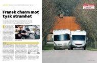 Fransk charm mot tysk stramhet - Allt om Husvagn & Camping
