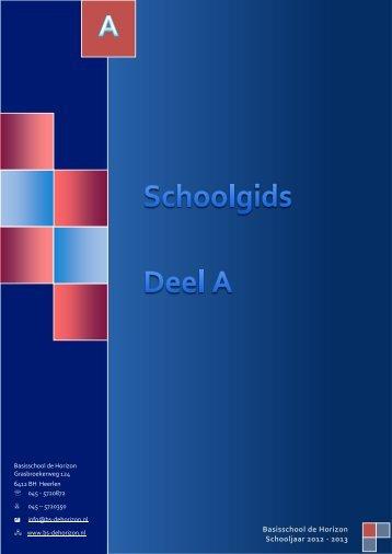 Schoolgids - Basisschool de Horizon