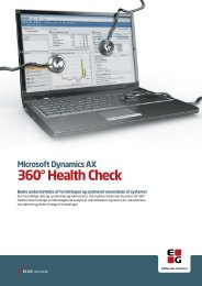 Hent brochure om Health Check (pdf) - EG A/S