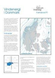 Faktablad P1 Vindenergi i Danmark - Danmarks Vindmølleforening