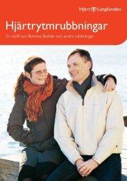 Hjärtrytmrubbningar - Hjärt-Lungfonden