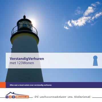 Download hier de brochure 'Verstandig verhuren' - 123Wonen.nl