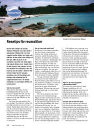 Resetips för reumatiker - Välkommen till Reumatikertidningens arkiv