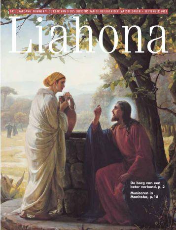 September 2003 Liahona