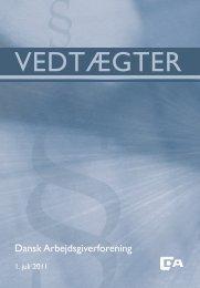 VEDTÆGTER - Dansk Arbejdsgiverforening