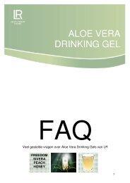 I. Algemene vragen over de Aloe Vera Drinking Gel ... - Naturel Deluxe