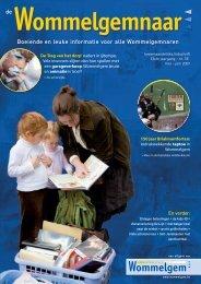 Boeiende en leuke informatie voor alle Wommelgemnaren