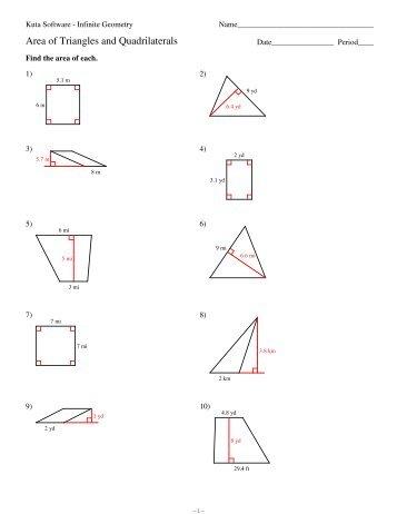 6 angles in quadrilaterals kuta software. Black Bedroom Furniture Sets. Home Design Ideas