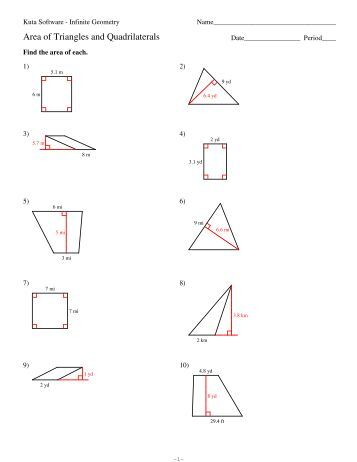 Classifying Triangles WS only