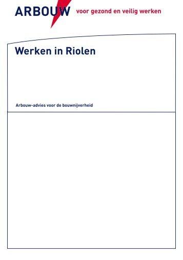 NL - Advies werken in riolen - Arbouw