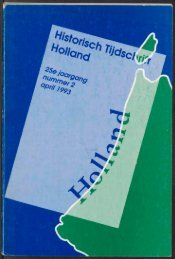 m - Holland Historisch Tijdschrift