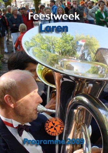 Feestweek Laren - Uitgeverij van Wijland
