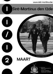 Maart - Sint-Martinus