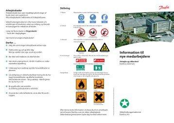 Information til nye medarbejdere - Danfoss Industri Service