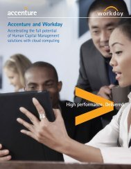 Accenture and Workday - Workday Rising