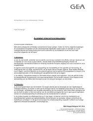 algemene verkoopsvoorwaarden art. 4 - GEA Happel Belgium