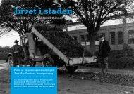 Handledning till Livet i staden - Regionmuseet Kristianstad