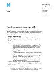 Direktionssekretariatet