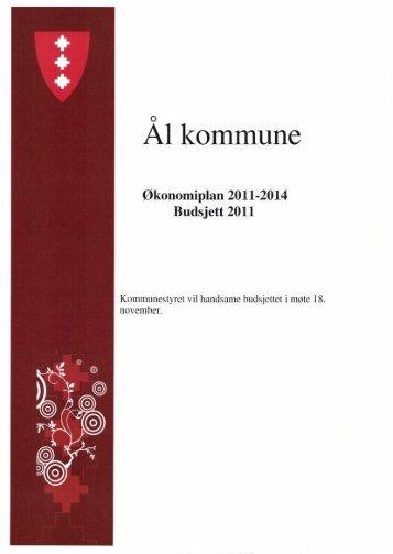 Økonomiplan 2011-2014 - Ål kommune